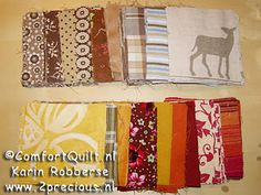 2 Comfort quilts to go...