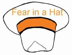 Group counseling activities - fear in a hat.