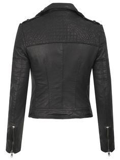 Muubaa Minsk Leather Quilted Biker Jacket