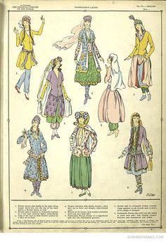 persian female trousers