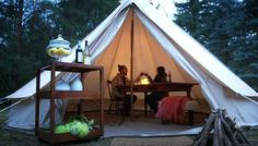 Enjoy the Elora Gorge Conservation Center from the luxury of a fully furnished canvas tent. The Destination Located 90 minutes west of Toronto, Moonlight Glamping offers city dwellers a chance to get away from. Canvas Tent, Bell Tent, Luxury Accommodation, Travel Deals, Hotel Deals, Weekend Getaways, Glamping, Outdoor Gear, Gazebo