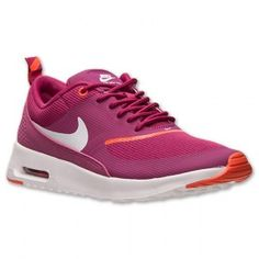 check out eccd8 b250c Chaussures D entraînement Femmes Nike Air Max Thea Magenta Brillant Blanc  Orange,