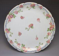 Antique JPL Pouyat Limoges Cabinet Plate by FleetwoodAntiques