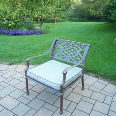 Oakland Living Tacoma Deep Seating Chair with Cushion Finish: Antique Bronze