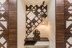 अद्वैतम् – Pavan Infratech unit With Mandir Ceiling Design, Wall Design, House Design, Shiplack Walls, Temple Room, Mandir Design, Pooja Room Door Design, Wooden Door Design, Puja Room