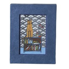 Library Cat Wall Art - Wall Décor - Products