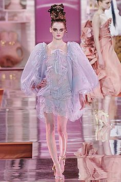 Christian Lacroix   Spring 2005 Couture Collection   Style.com
