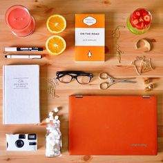MEET OUR BARE ESSENTIALS today. What's in your kit? The awesome @watermeloncrush has this colourful ensemble in hers #yogamyway #lenovo #yoga2pro #yoga #colorfol #orange
