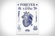 Forever: The New Tattoo. An depth look at the current state of tattoo culture, with an emphasis on the new underground scene and its increasing convergence with high fashion and art Dynamic Tattoo, Traditional Tattoo Art, Tattoo Trend, Neue Tattoos, Cover Tattoo, Grafik Design, Tattoo Inspiration, American History, New Books