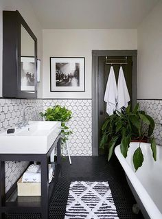 Modern Farmhouse Master Bath Renovation – Obsessed with our vanity spaces! Modern Farmhouse Master Bath Renovation – Obsessed with our vanity spaces! Apartamento No Brooklyn, Brooklyn Apartment, Bad Inspiration, Bathroom Renos, Bathroom Storage, Bathroom Remodeling, Bathroom Layout, Bathroom Organization, Bathroom Basin