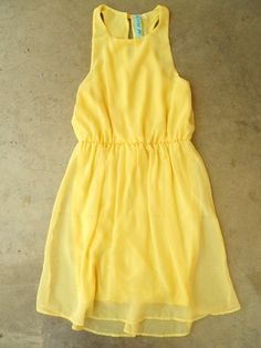 Yellow Daffodil Dress by suzette