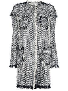 Lanvin Boucle-Knit Coat