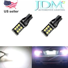 JDM ASTAR Super Bright White 921 912 PX 15-SMD LED Bulb Car Backup Reverse Light
