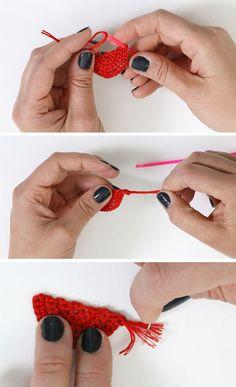 DIY Crochet Earrings: Fringe Statement Earrings - Consumer Crafts