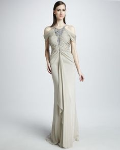 What Would Khaleesi Wear? Badgley Mischka...