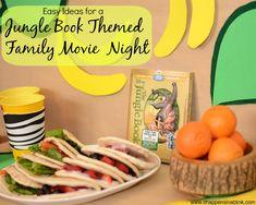 Jungle Book Themed Movie Night #JungleFresh #shop #cbias