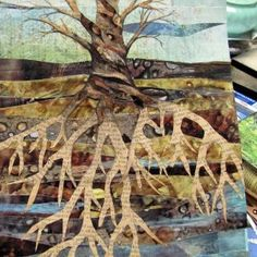 How to use CitraSolv concentrated cleaner to create mixed media artwork.