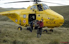 Taken in the early 1980's on a Dartmoor Rescue Group training weekend. On the Sunday a large Search and Rescue Exercise was initiated (SAR-EX) involving a Whirlwind Helicopter from RAF Chivenor by AlPew, via Flickr. Image taken just north of Holming Beam