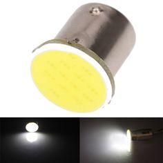 Coche blanco mazorca de 1156 ba15s LED cola vuelta inversa bombilla