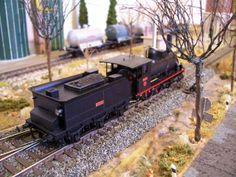 Locomotora de vapor RENFE 030-2305.