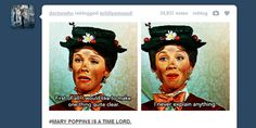 mary poppins is a time lord | Tumblr