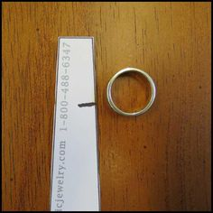 How do you use a printable ring gauge?