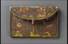 Pocketbook  French, 17th century  France