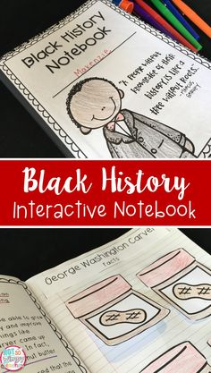 This black history interactive notebook is the perfect activity for Martin Luther King Jr. Day and for Black History Month! The informational text passages and notebook activities can be used during reading or social studies!