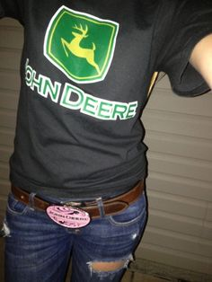 John Deere. In love. My kinda present
