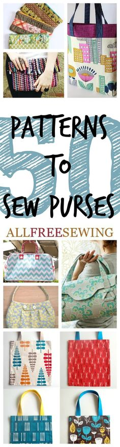 51 Patterns to Sew Purses + New Coin Purses: