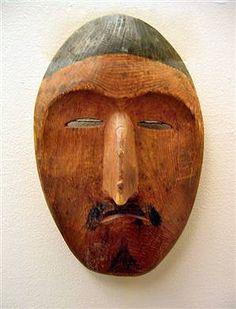 Shamanic mask, Alaska