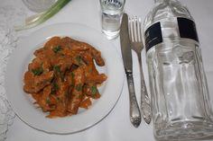 Befstroganov sau filé de vițel Stroganoff - Gust și Aromă Recipes, Food, Recipies, Essen, Meals, Ripped Recipes, Yemek, Cooking Recipes, Eten