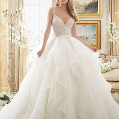 Be a princess in this @morileeofficial by @madelinegardner ! What a dazzling ball gown! #Morilee