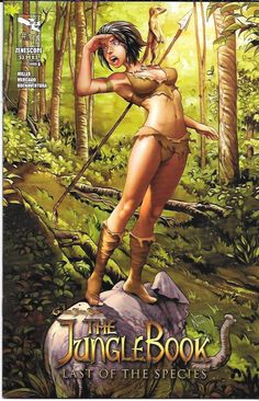 Grimm Fairy Tales Presents : The Jungle Book Last Of The Species # 4 Zenescope Entertainment Cover B