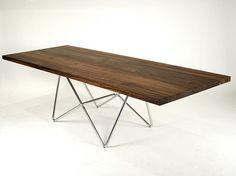 Hudson Furniture Inc. -Walnut table