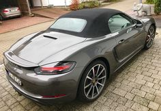 Porsche 718 Boxster, Boxster S, Cayman Gt4, New Ferrari, Ferrari California, Porsche Cars, Aeroplanes, Cool Cars, Automobile