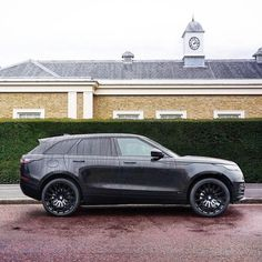"740 Likes, 3 Comments - Range Rover ® Industry [25.1] (@range.rover.industry) on Instagram: ""Black rainy Velar! Do you like it? --------------------------------------------------------…"""