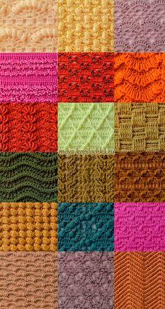 98 pontos de crochet