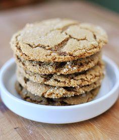 Mel's Kitchen Cafe   Ginger Crinkle Cookies