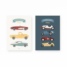 Course Vintage, Lil Boy, Boy Room, Automobile, Boys, Illustrations, Architecture, Poster, Boys Bedroom Paint