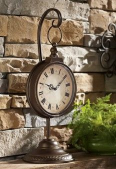 Love this Courtyard Clock!!  ~ visit: www.biltmoreinspirations.com/amyumphrey