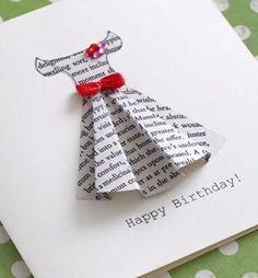 Милая идея для открытки подружке или сестре