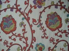 """Brunschwig & Fils """"Nissa"""" Large Scale Floral Tapestry From Italy (90) Le sigh. I looooove this."""