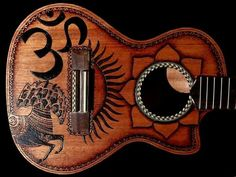 Beautiful George Harrison themed ukulele