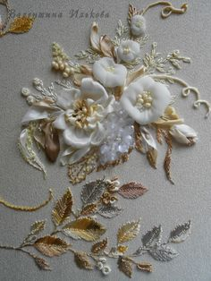 *EMBROIDERY/RIBBON ART ~ Gallery.ru / Photo # 5 - Silk delights - 2 - Valehcia