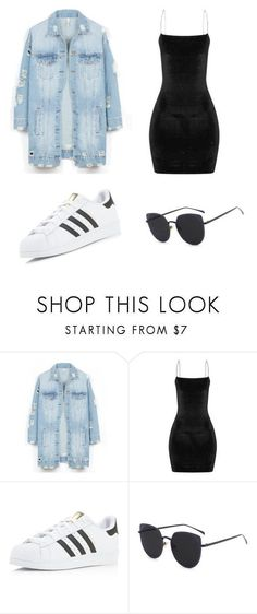 \casual\ by juliadb on Polyvore featuring LE3NO and adidas #fashiondresses#dresses#borntowear