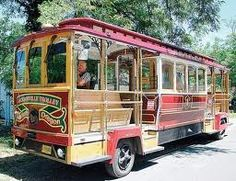 The Jacksonville (Oregon) Trolley is a great way to see the historic town.