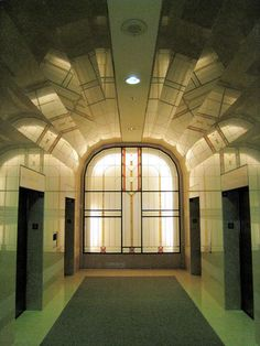 Art Deco Lobby 1948 Ted Rogers School of Management, Bay and Dundas, Toronto…