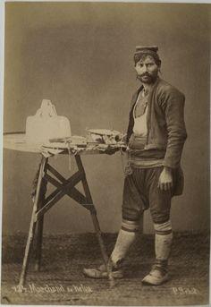 Turkish Halva seller, Ottoman Empire 1875