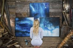 About me - Jonna Jinton Illustrations, Illustration Art, Jonna Jinton, Acrylic Painting Inspiration, Artist Aesthetic, Art Studios, Art Inspo, Watercolor Art, Abstract Art
